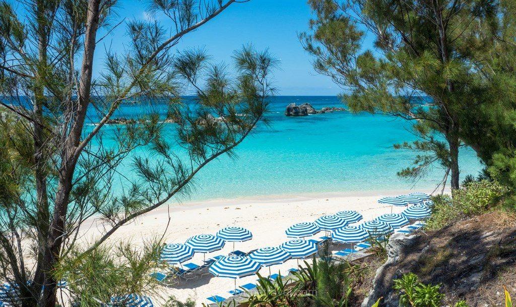 sites touristiques incontournables Les Bermudes plage