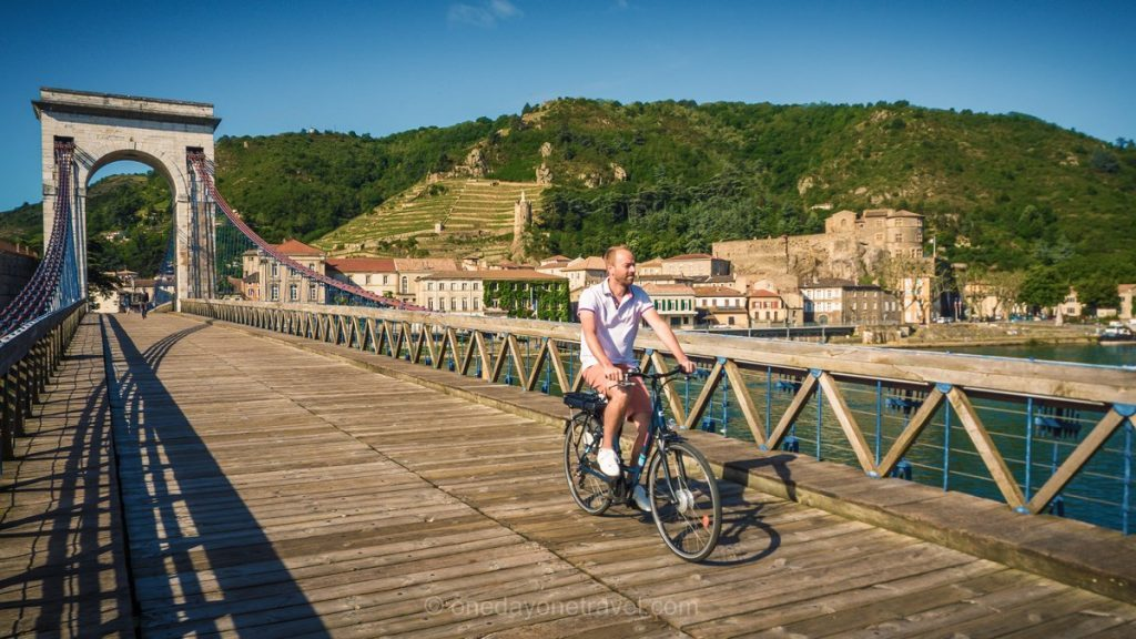 Partir en mai Voyage Via Rhona France vélo