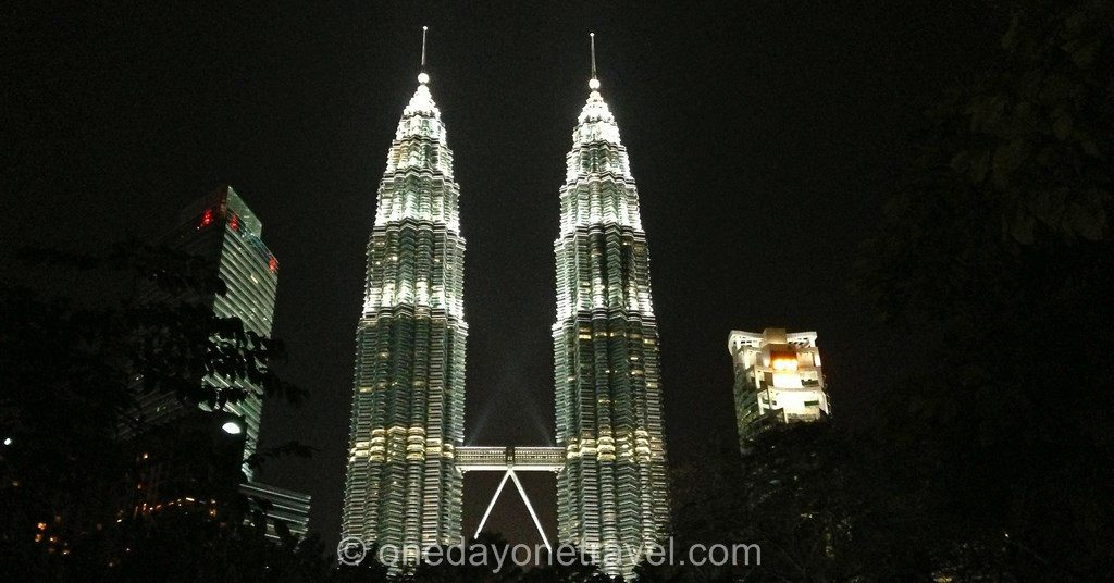 Petronas Tower by night
