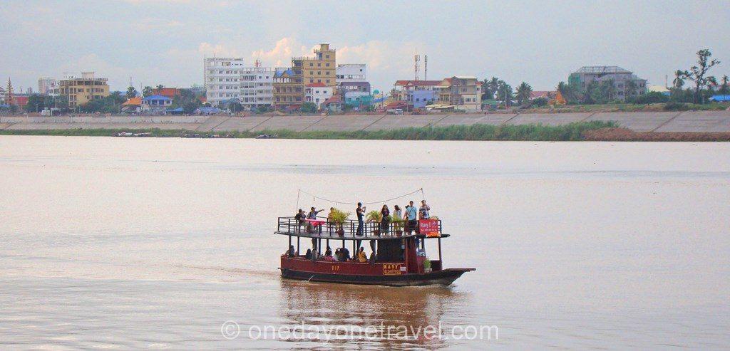 Phnom Penh Bord de fleuve