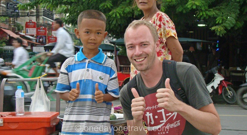Phnom Penh Bord de fleuve Richard