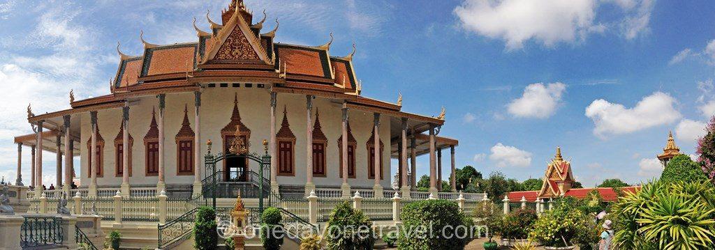 Phnom Penh Palais royal blog voyage