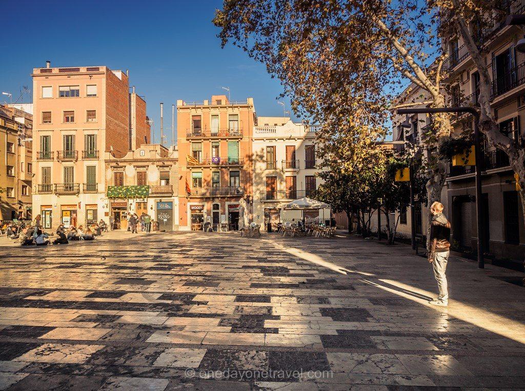 Plaza del sol Barcelone blog voyage
