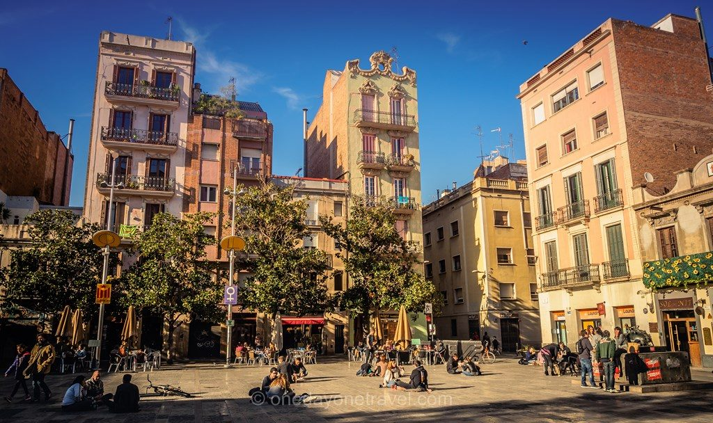 Plaza del sol Barcelone blog voyage place