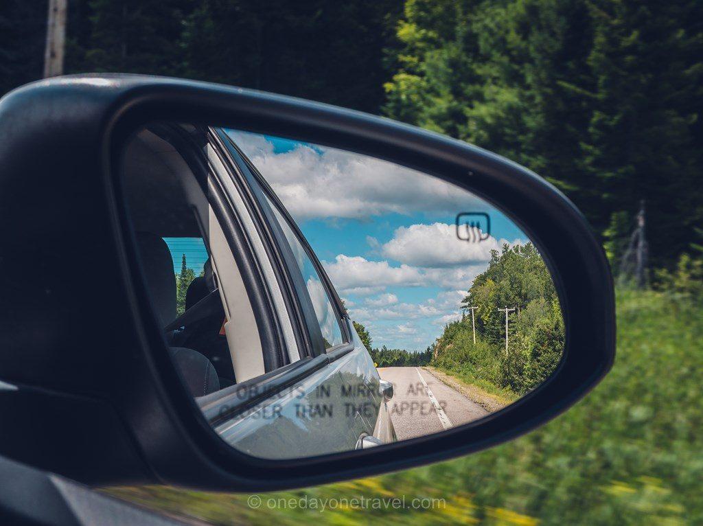 Location voiture road trip dans les Laurentides