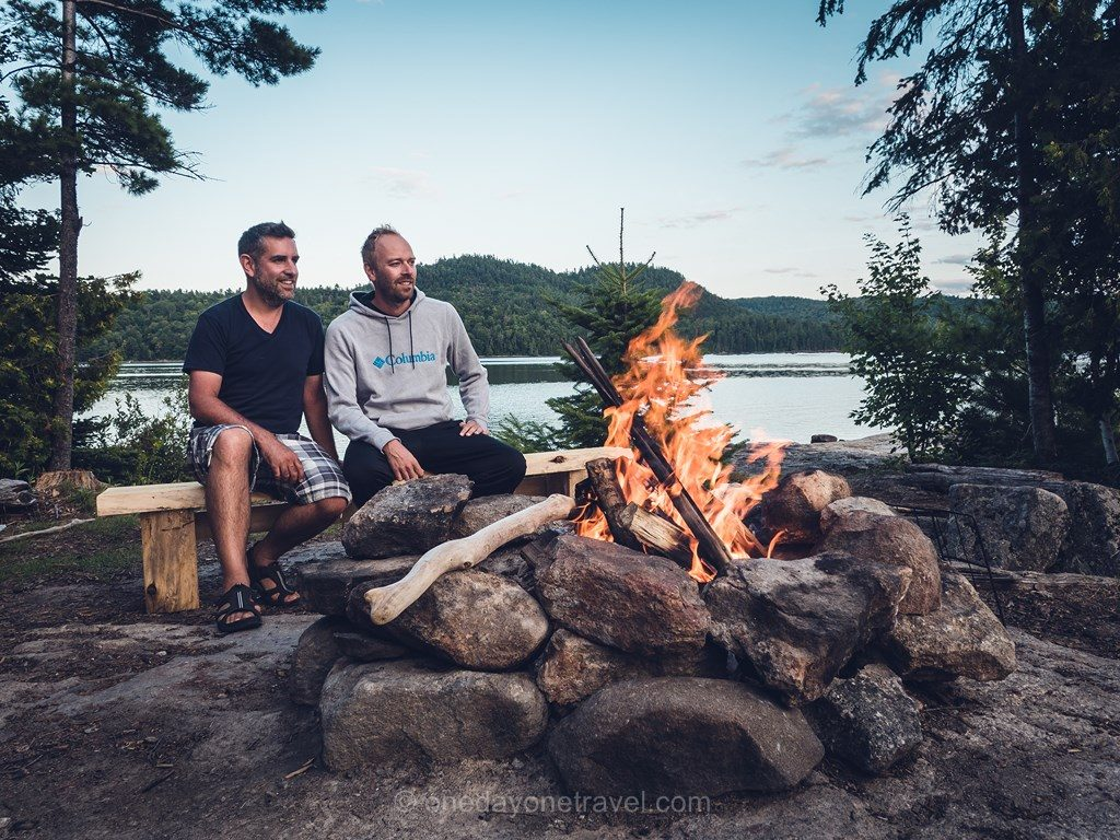 Poisson Blanc Laurentides camping Franck Richard