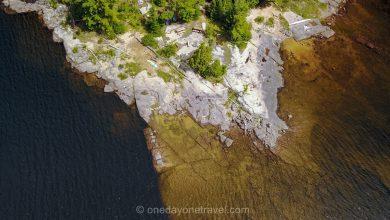 Photo of Lac du Poisson Blanc : Camping sur une île déserte dans les Laurentides