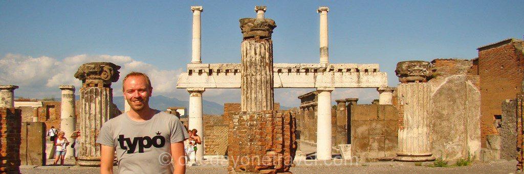 Pompei forum richard blogueur voyageur