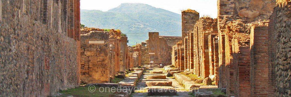 Pompei rue ruines