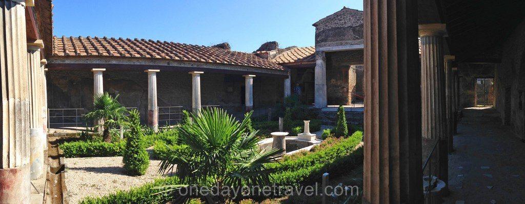 Pompei vestiges maison pompei