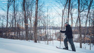 Photo of Ski-hoc ou ski-raquette : Initiation à la station Duchesnay au Québec en hiver
