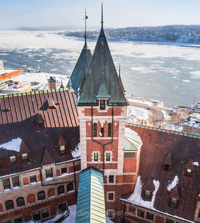 Québec Fairmont chateau frontenac tour
