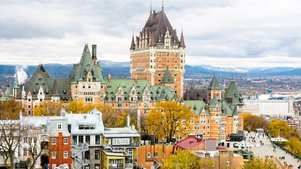 Québec château Frontenac