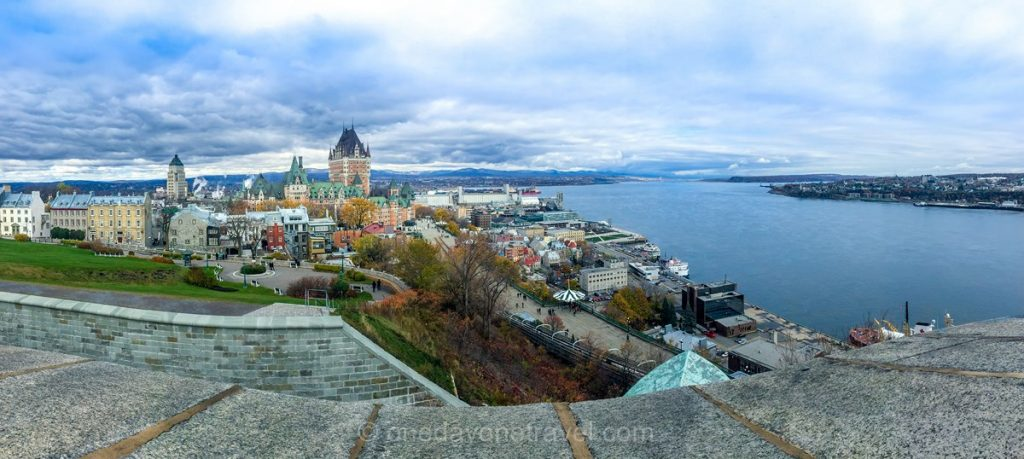 Visiter Québec Promenade des gouverneurs