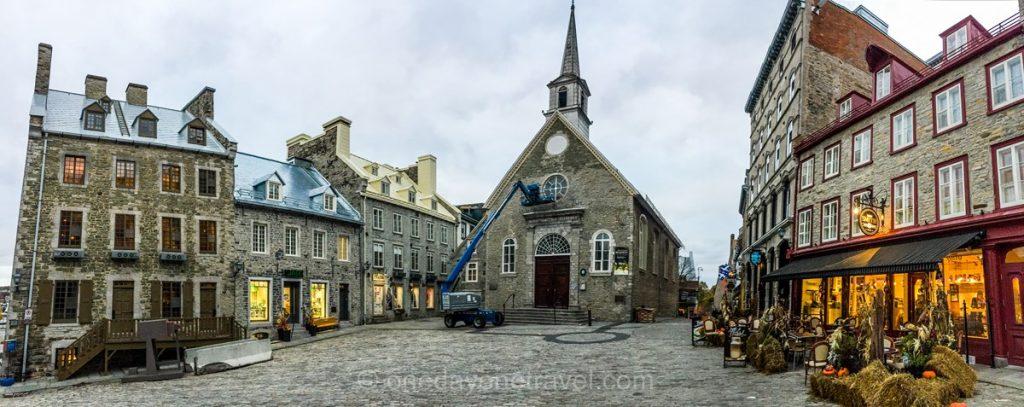 Visiter Québec centre blog voyage