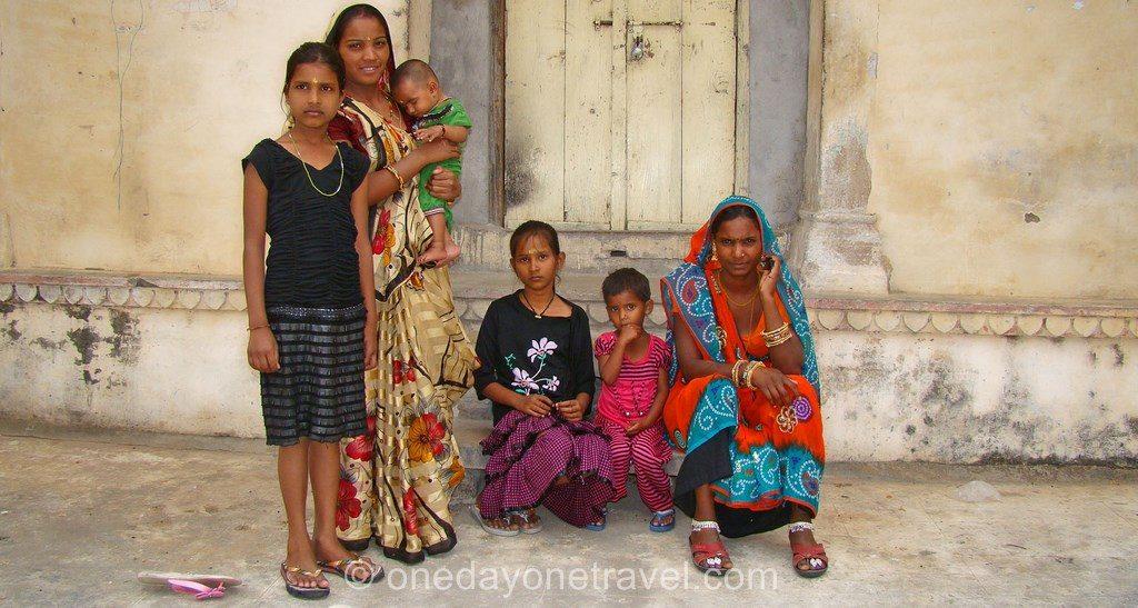 Rajasthan famille indienne Avis Voyage inde