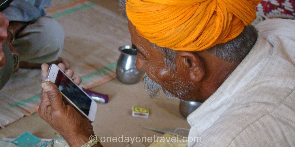 Rakasthan nomade desert thar iphone