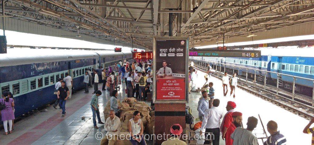 Rajasthan train inde gare jaipur blog voyage