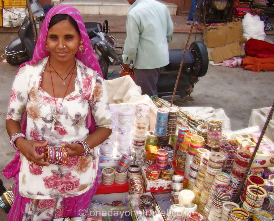Rajasthan vendeuse bracelet jodhpur