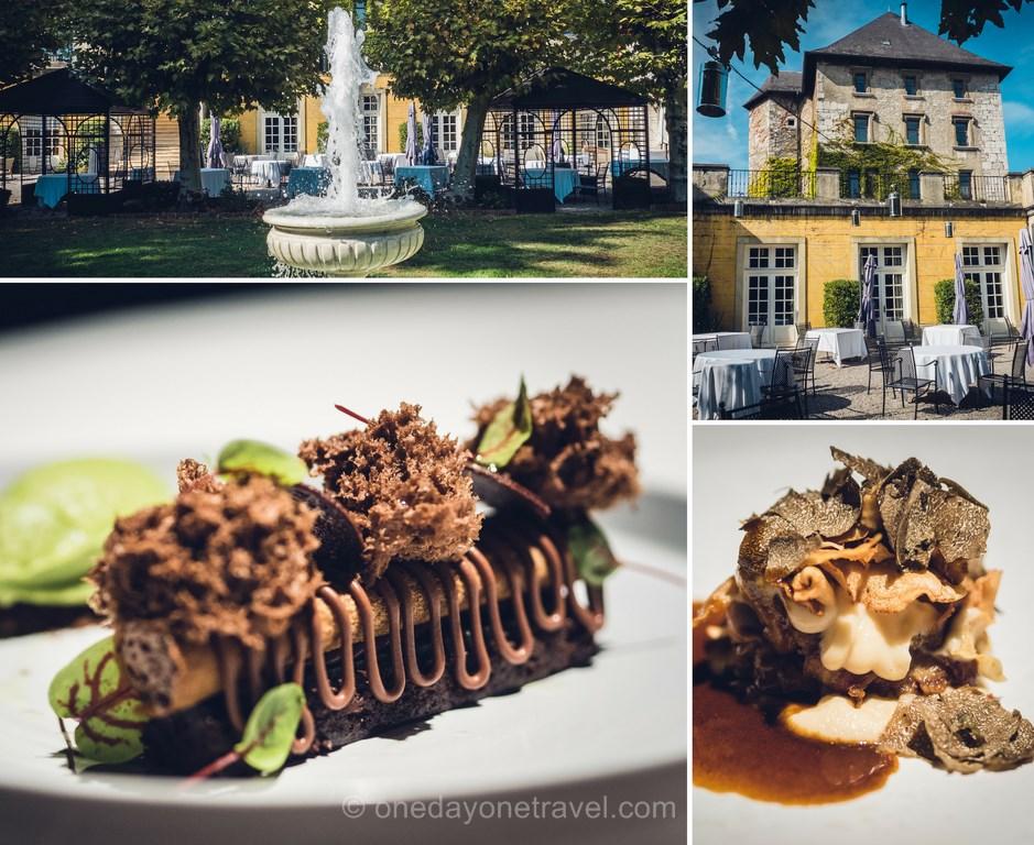 Restaurant l'Orangerie du château de Candie Chambéry _ Séjour en Savoie