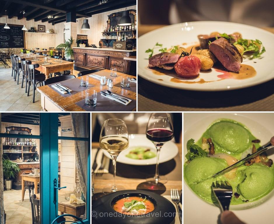 Restaurant la Cantine du château de Candie Chambéry _ Séjour en Savoie