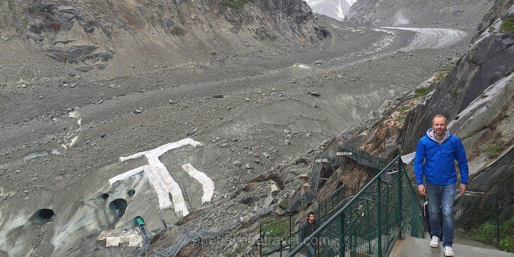 Richard escalier mer de glace chamonix