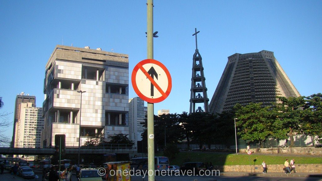 Rio de Janeiro Centro cathédrale