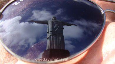 Rio de Janeiro Corcovado reflection