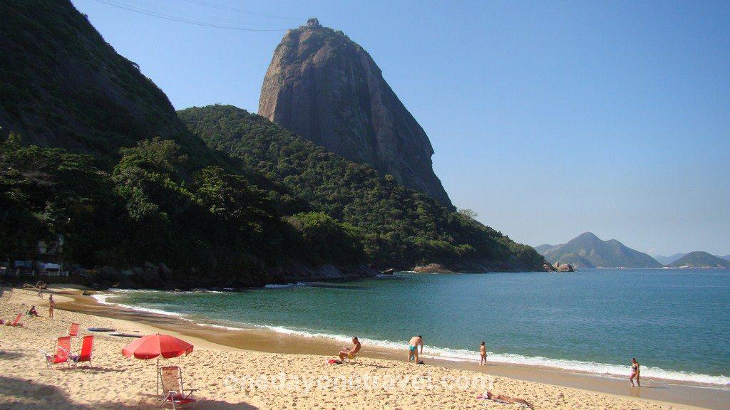 Rio de Janeiro Pao Acucar plage