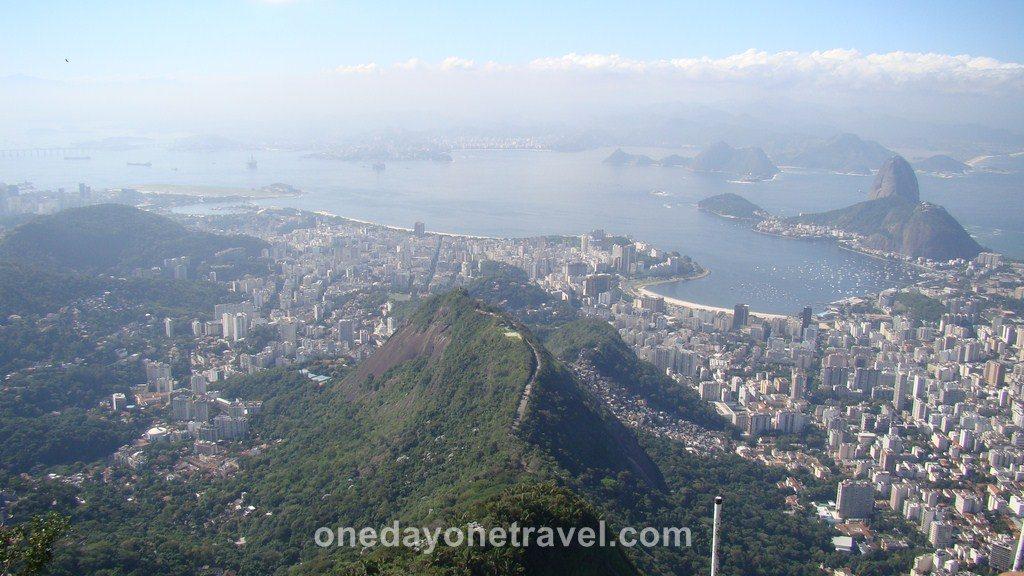 Rio de Janeiro Vue depuis Corcovado blog voyage