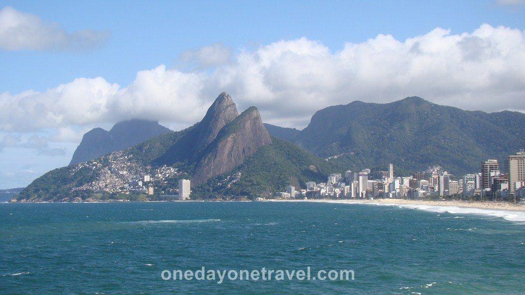 Rio de Janeiro baie plage Ipanema