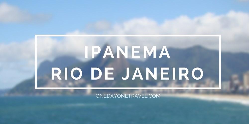 Rio de Janeiro ipanema rio blog voyage