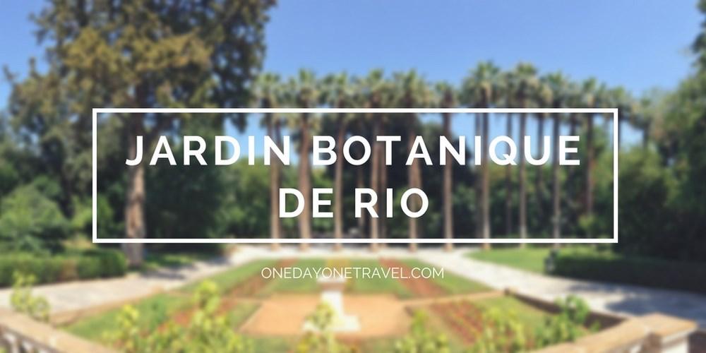 Rio de Janeiro jardin botanique rio blog voyage