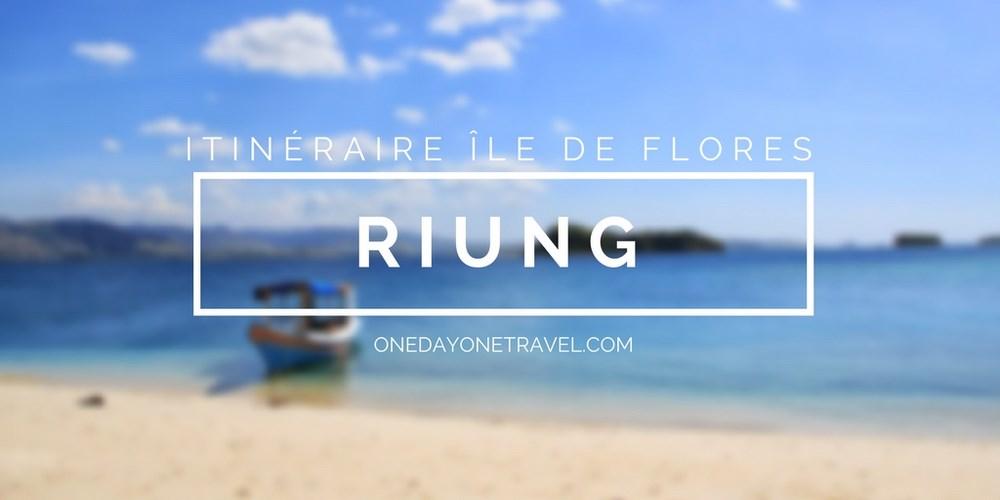 Riung itinéraire ile de flores blog voyage indonesie