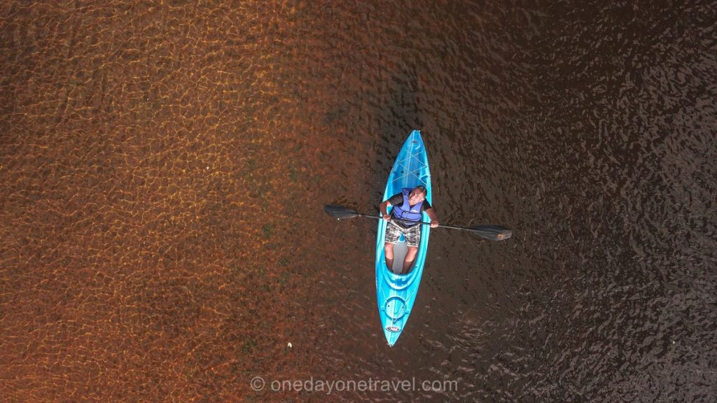 Rivière Rouge kayak Franck