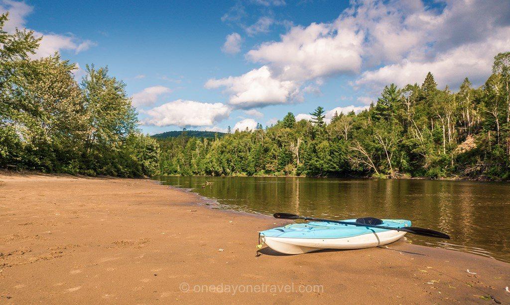 Riviere Rouge Québec Kayak Laurentides