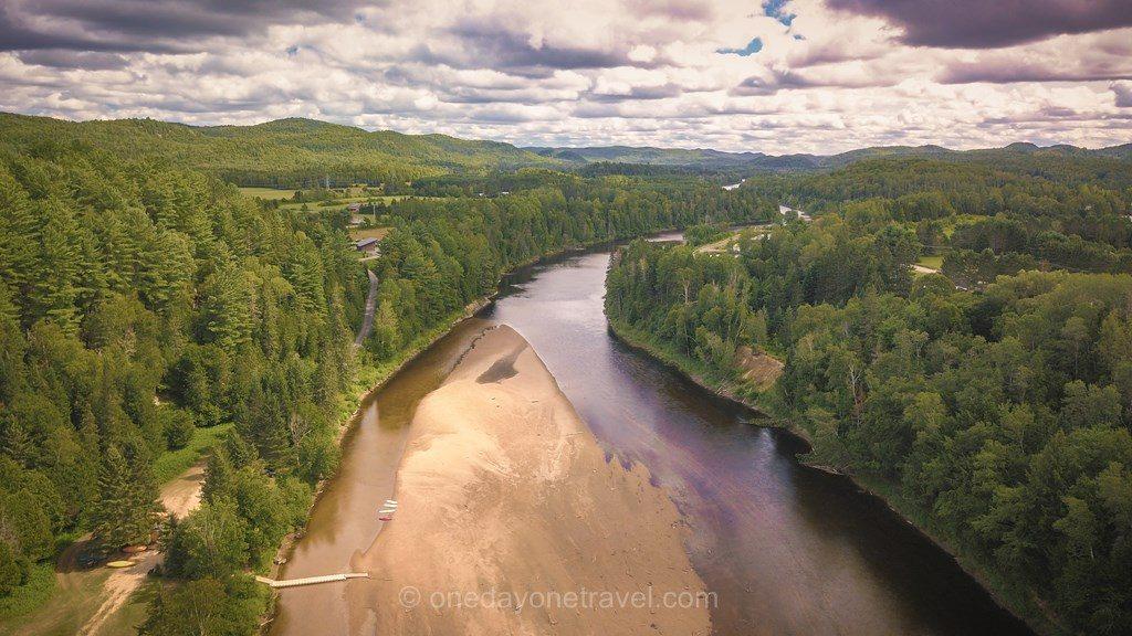 Riviere Rouge Québec drone