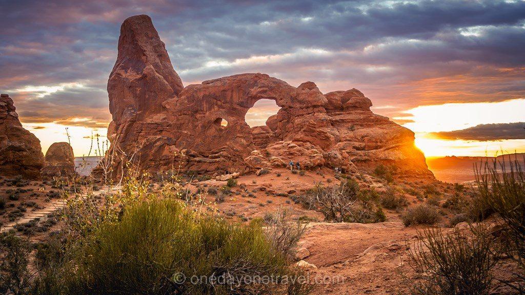 Road Trip ouest américain Arches Moab Utah