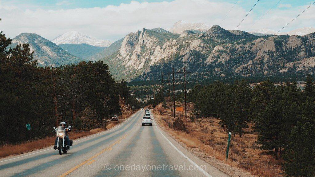 Road Trip ouest américain Colorado route