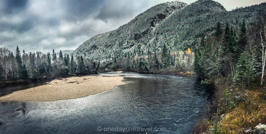 Route paysage Fjord du Saguenay