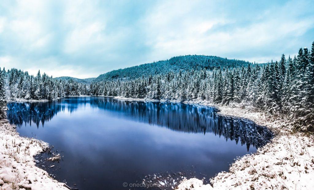 Visiter le Québec Route Fjord lac