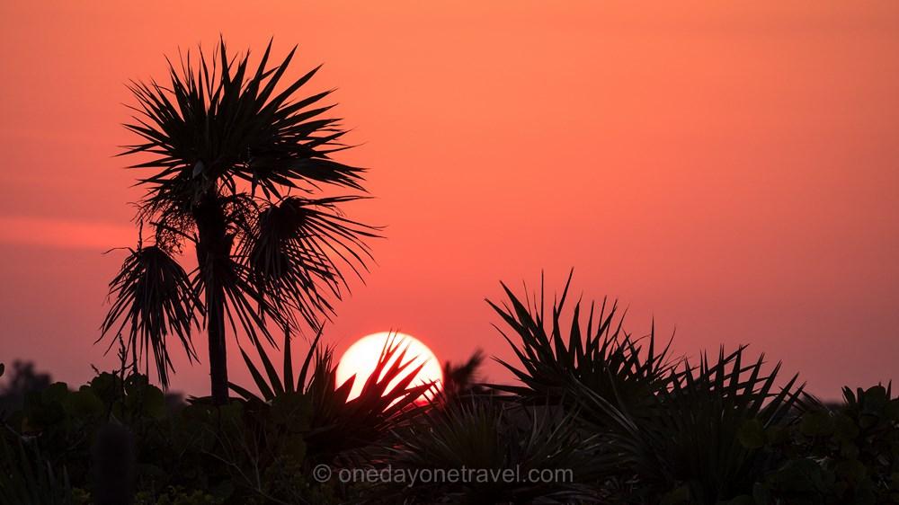 Bahamas San Salvador sunset