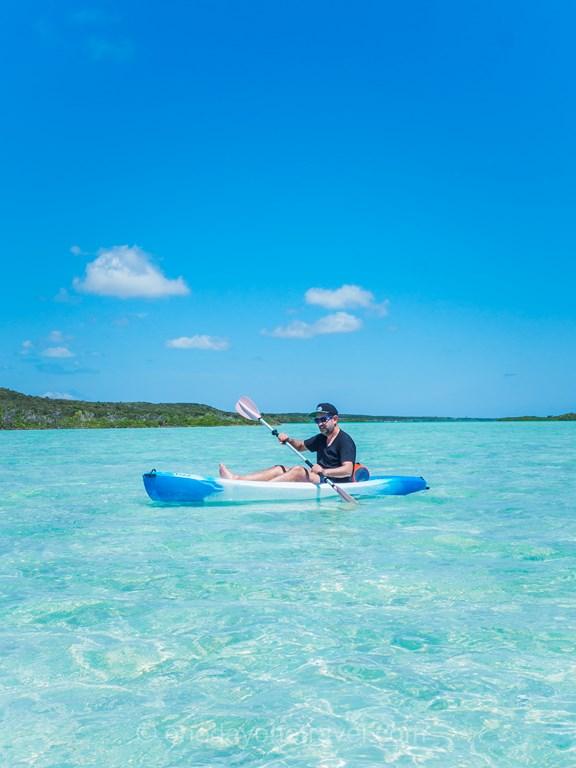 San Savador Kayak Franck Bahamas