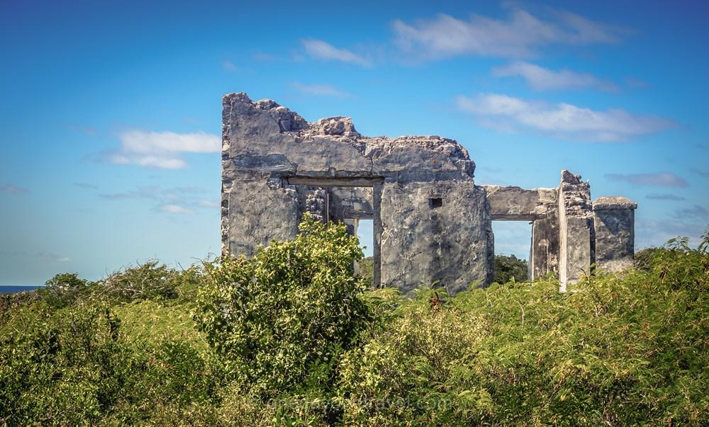 San Salvador château ruines