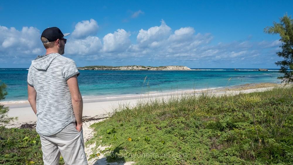 Richard plage Bahamas