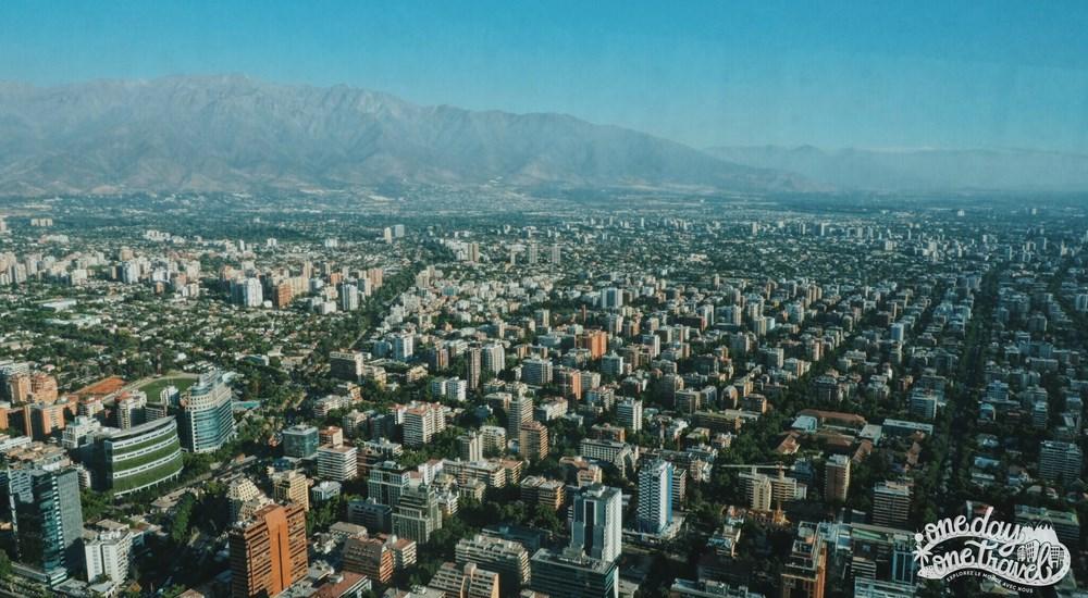 Santiago du chili blog voyage Gran Torre Costanera