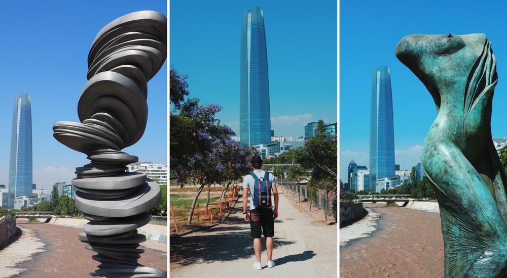 Santiago du chili gran torre