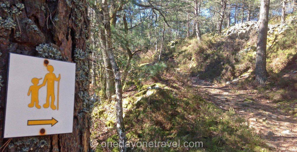 Sentiers des carriers Fontainebleau panneau