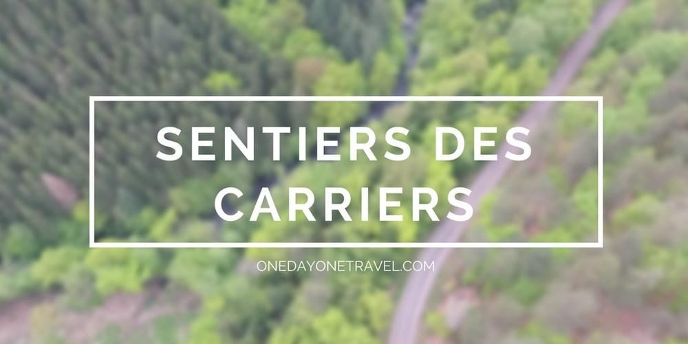 Sentiers des carriers Fontainebleau blog voyage