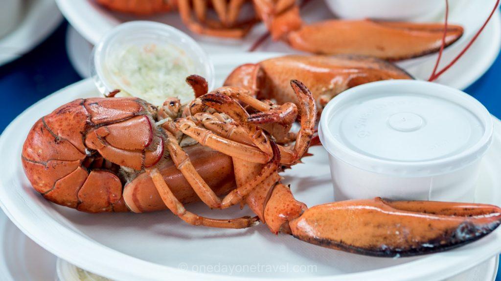 Shediac Nouveau-Brunswick Canada homard